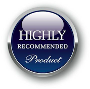 """Mono and Stereo """"Highly Recommended Product"""" award logo"""